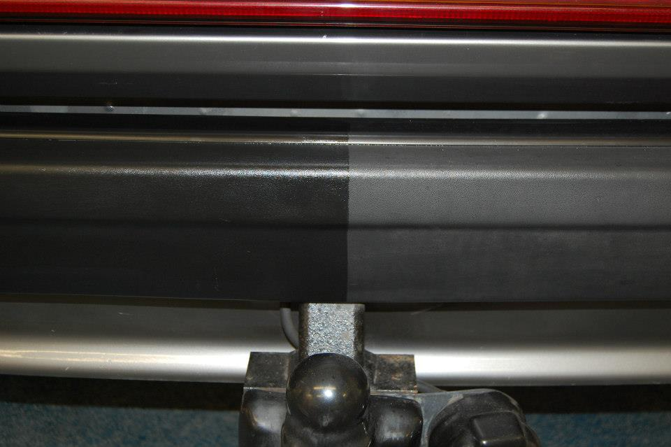 Bumper & Trim Gel Before and After