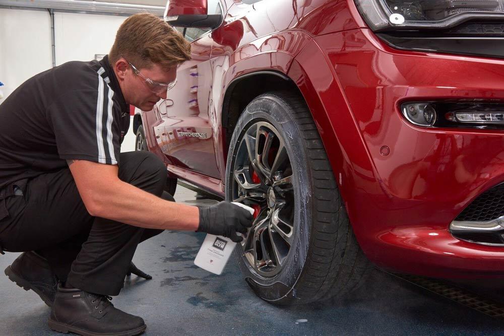wheel-spraying